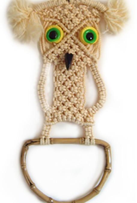 The Macrame Owl