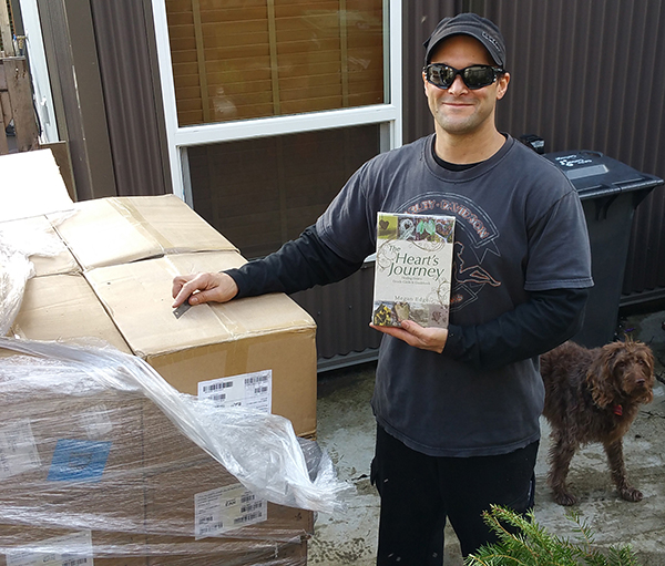 First Copy of Heart's Journey sold Today!